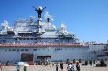 基辅号航空母舰,座落在天津塘沽滨海新区泰达航空母舰主体乐园。一直向往的地方,可是上舰以后还是比较失望