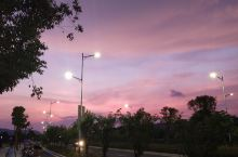 天台县的夜景美得不要不要的