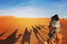 撒哈拉沙漠摩洛哥梅尔祖卡帐篷营地