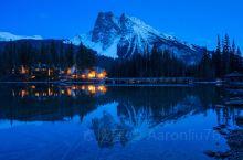 落基山脉中的湖泊。