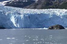 阿拉斯加夏季冰川