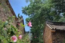 """手绘小镇位于嵩县黄庄乡三合村。300米长的文化墙上手绘""""诗意""""乡村,村落里的老宅院有了新""""内涵""""。位"""