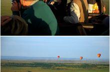 俯瞰马赛马拉大草原!感悟非洲的原始与灵动!飞行员点火,1分钟不到热气球就稳稳的到了空中,整个过程平稳