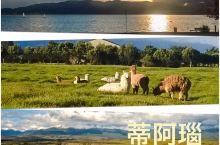 """蒂阿瑙湖,是去往米尔福德峡湾的必经之地,也可以说是新西兰峡湾公园的入口,有""""南阿尔卑斯山的珍珠""""之称"""