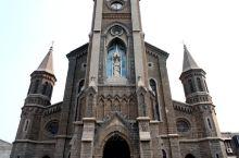 """""""一部水浒传天下,世人皆知大名府""""。位于宋朝北京大名府,今大名县东街的天主教宠爱之母教堂,始建于19"""