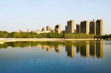 齐河人民一大休闲运动场所,风景优美,绿茵环绕,真是鸟语花香,人间美景!