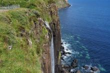 Kilt Rock and Mealt falls viewpoint 和lealt falls,天