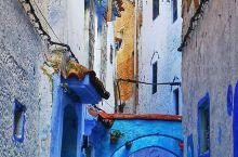 摩洛哥舍夫沙万,蓝色梦幻小镇的童话小镇,非洲的天空之镜,北非的圣托里尼。