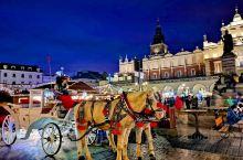 新年的第一天,乘坐飞机至波兰的旧都克拉科夫,这里到处洋溢着节日的气氛。密集成群的鸽子,金壁辉煌的教堂
