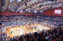 在澳洲看篮球赛,感觉现场氛围。