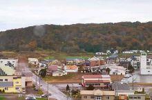 """新冠町·北海道  在北海道新冠町""""優駿の塔"""",可以很清楚,看清这是一个,安静而舒适的小镇!"""