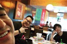 With 2 Japanese friends, having Korean food in Ban