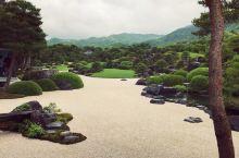 日本島根県的足立美術館,有著日本最美的庭院,更是一個美術館,炎炎夏日中來到這裡,彷彿置身於世外桃源一