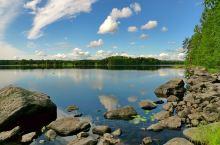 芬兰中部湖区,没到湖区不能说到过千湖之国。