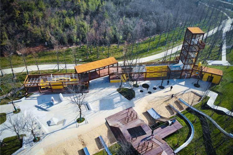 湯山礦坑公園