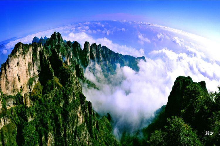 """Wanxian (""""Ten Thousand Divinities"""") Mountain Scenic Area4"""