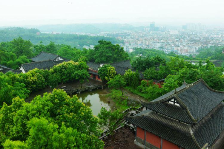 Shenlong Mountain Ba People's Castle4