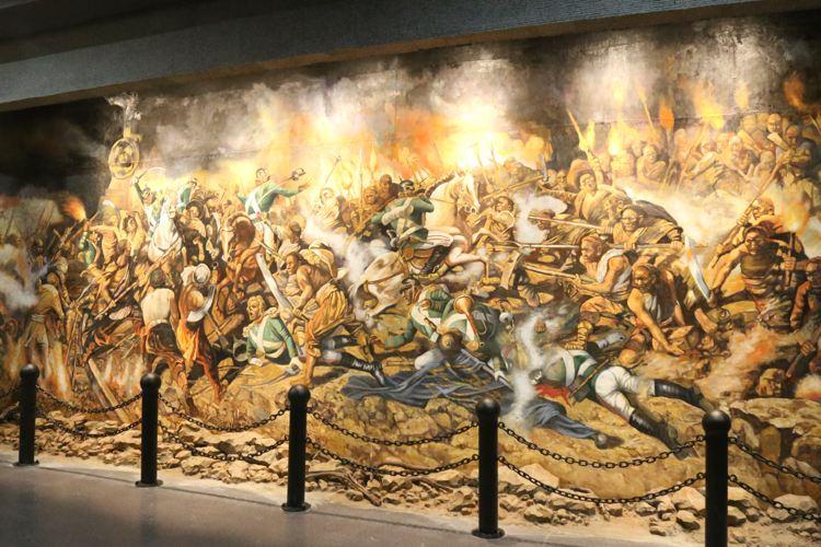칭다오 세계1차대전 유적박물관1