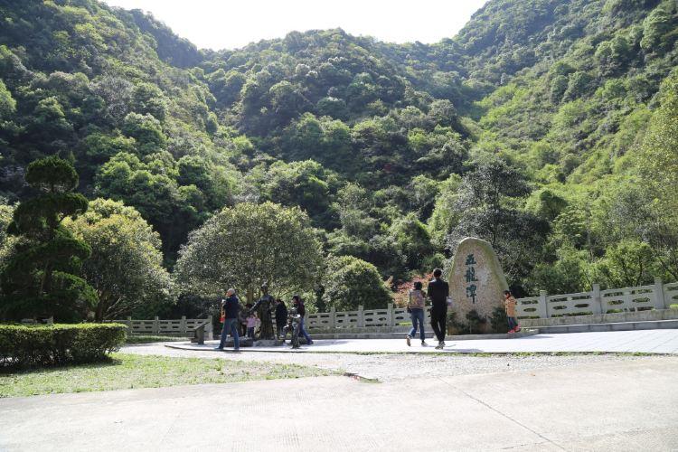 닝보 우룽담 관광지구1