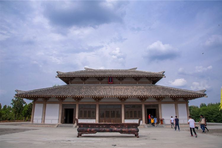 Chiyou Mausoleum Tourist Area2