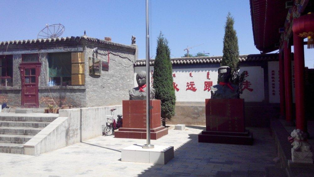 内蒙古 包头市 东河区 包头召 - 西部落叶 - 《西部落叶》· 余文博客