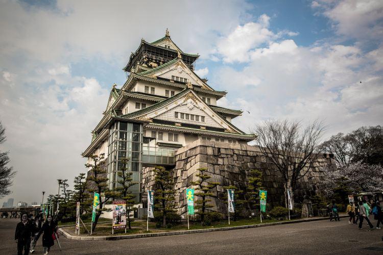 The Main Tower of Osaka Castle2