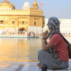 旁遮普邦游记图文-【阿姆利则】白天、傍晚与黑夜,带你看不同时间的金庙