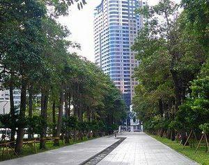 台中经国绿园道旅游景点攻略图