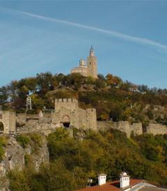 """[保加利亚游记图片] [原创]保加利亚""""大特尔诺沃市""""的""""查雷维茨山顶城堡""""是世界遗产地。"""