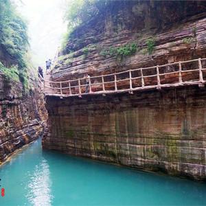 安阳游记图文-幽幽峡谷深,怡情山水间