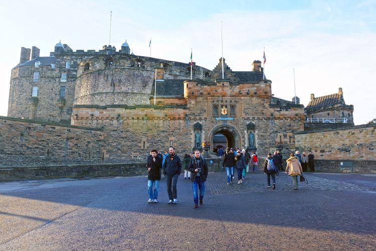 Edinburgh Castle2