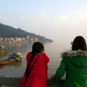 平湖游记图文-韦金勇:上海东海之滨的海湾、金山嘴景区和浙江乍浦九龙山的南湾、汤山景区一日游