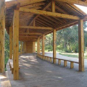 湿地古杨风景区旅游景点攻略图