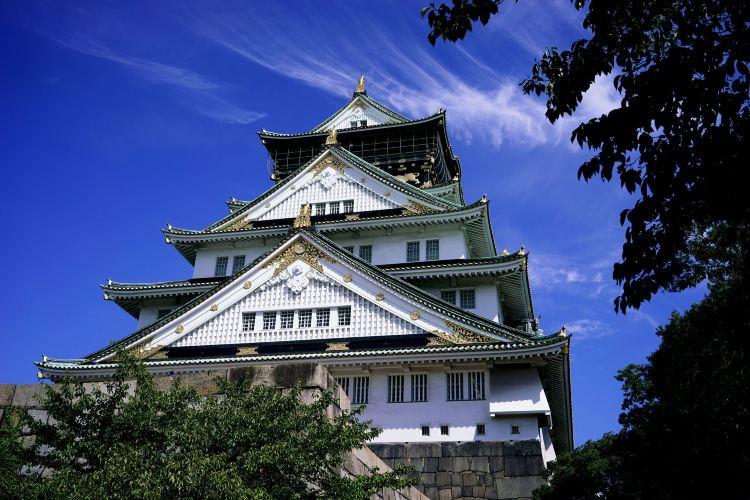 The Main Tower of Osaka Castle3