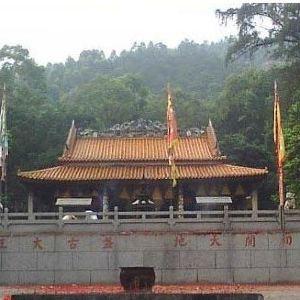 盘古王旅游区旅游景点攻略图