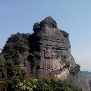 资源丹霞国家地质公园旅游景点攻略图