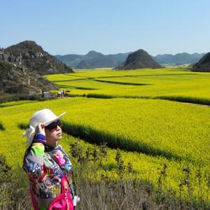 米易游记图文-早春二月第一片花海一云南罗平春节自驾游