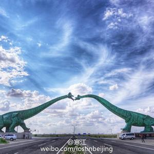 二连浩特游记图文-探访中国最大的侏罗纪世界