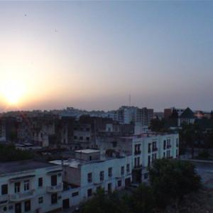 卡萨布兰卡游记图文-[原创]独自跑到卡萨布兰卡航标塔下看看。摩洛哥13,摩、突13.