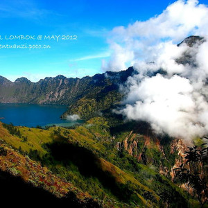 龙目岛游记图文-一半是海水,一半是火焰@印尼龙目岛