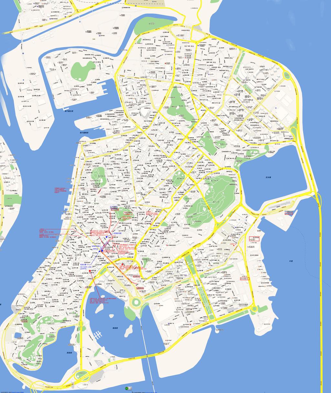 香港黄大仙区地图_香港行程地图(20140205-0210) - 香港游记攻略【携程攻略】
