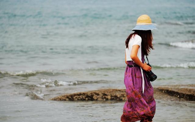 单车自驾:我在日照,我只想静静地看大海