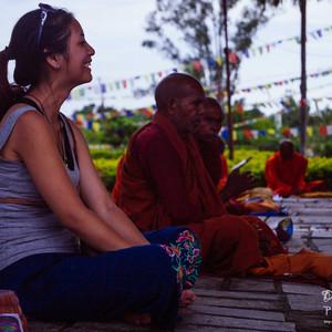 蓝毗尼游记图文-【尼泊尔】_等风来,幸福在这儿,敲响你的门!