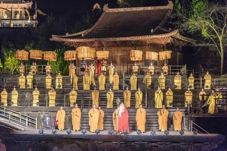 《禪宗少林·音樂大典》實景演出1