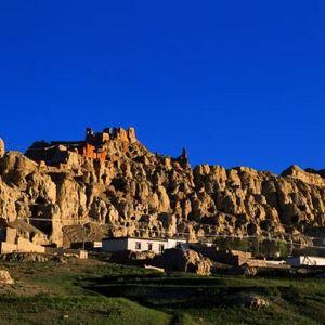 皮央东嘎洞窟遗址旅游景点攻略图