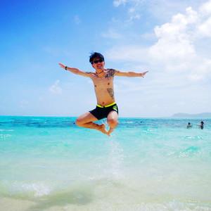 美国游记图文-I Love Saipan,那一片蔚蓝