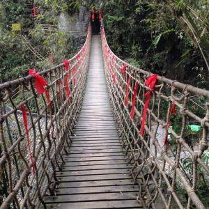 阿依河天梯旅游景点攻略图