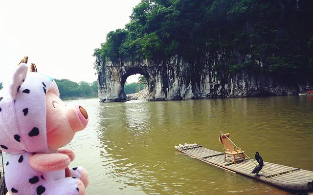 桂林&阳朔:一个人的浮世清欢,一个人的山高水长