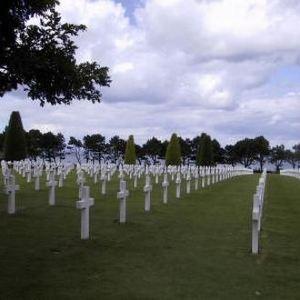 山德维勒德国战争墓地旅游景点攻略图