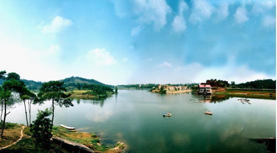 春节游玉龙湖